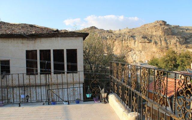 Sandik Cave Hotel вид на фасад