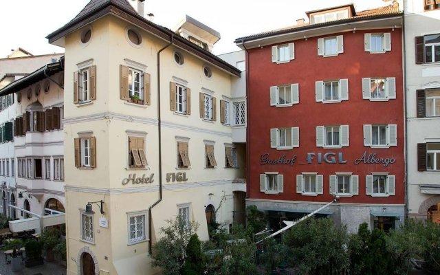 Hotel Figl ***S Больцано вид на фасад