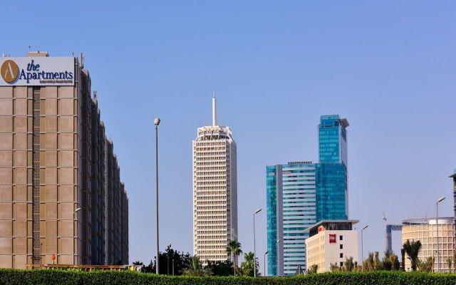 Апартаменты The Apartments Dubai World Trade Centre вид на фасад