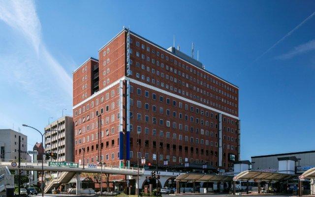 APA Hotel Kurashiki Ekimae вид на фасад