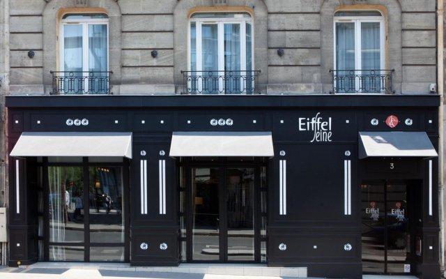 Отель Eiffel Seine Париж вид на фасад