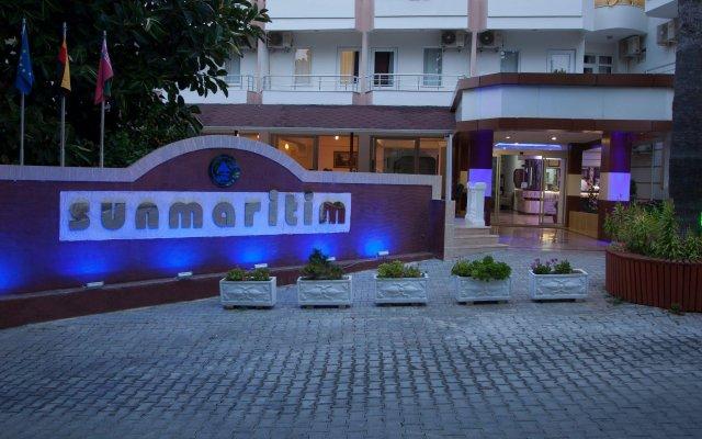 Sun Maritim Hotel Турция, Аланья - 1 отзыв об отеле, цены и фото номеров - забронировать отель Sun Maritim Hotel онлайн вид на фасад