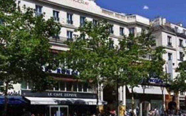 Отель Best Western Ronceray Opera Париж вид на фасад