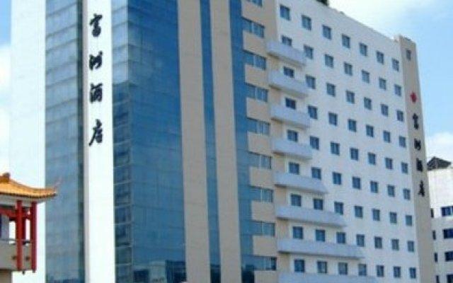 Отель Fuzhou Biz Hotel Китай, Чжуншань - отзывы, цены и фото номеров - забронировать отель Fuzhou Biz Hotel онлайн вид на фасад