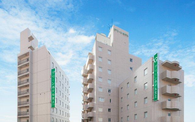 Отель GreenHotel Kitakami Япония, Китаками - отзывы, цены и фото номеров - забронировать отель GreenHotel Kitakami онлайн вид на фасад