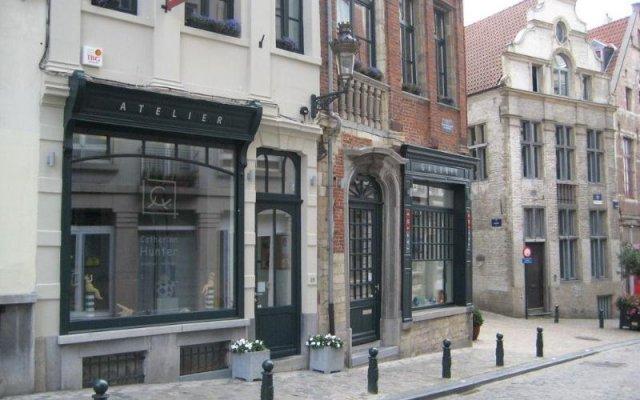 Отель B&B Taptoe I Бельгия, Брюссель - отзывы, цены и фото номеров - забронировать отель B&B Taptoe I онлайн вид на фасад