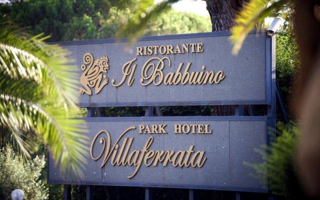 Park Hotel Villaferrata вид на фасад