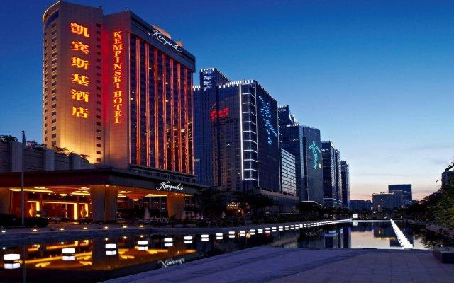 Отель Kempinski Hotel Shenzhen China Китай, Шэньчжэнь - отзывы, цены и фото номеров - забронировать отель Kempinski Hotel Shenzhen China онлайн вид на фасад