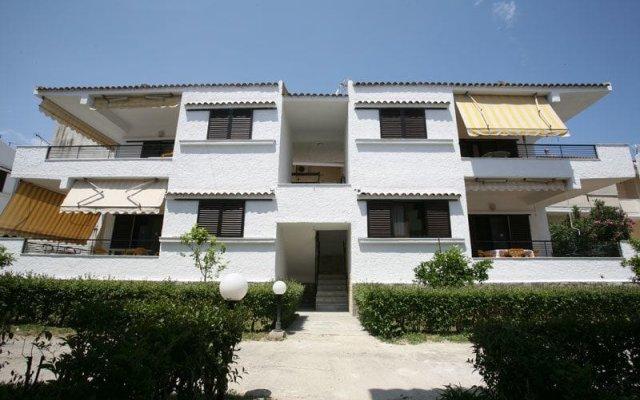 Отель Villa Reppas Греция, Пефкохори - отзывы, цены и фото номеров - забронировать отель Villa Reppas онлайн вид на фасад