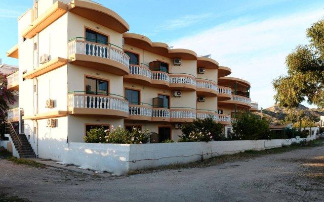 Отель Villa George вид на фасад