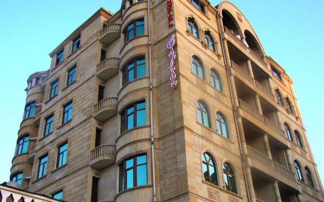 Отель Сафран вид на фасад