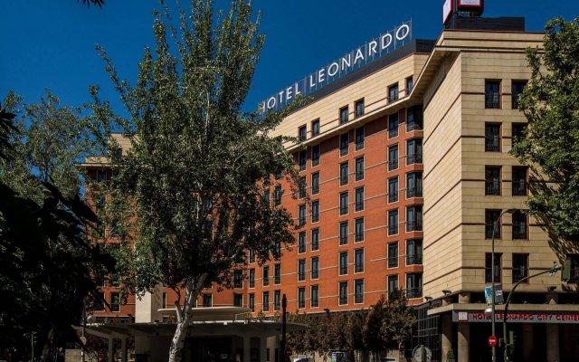 Отель Leonardo Hotel Madrid City Center Испания, Мадрид - 1 отзыв об отеле, цены и фото номеров - забронировать отель Leonardo Hotel Madrid City Center онлайн вид на фасад