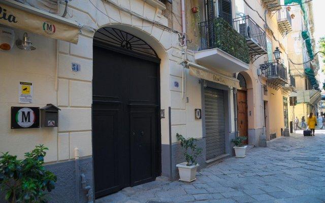Отель B&B Orologio al 56 Италия, Палермо - отзывы, цены и фото номеров - забронировать отель B&B Orologio al 56 онлайн вид на фасад