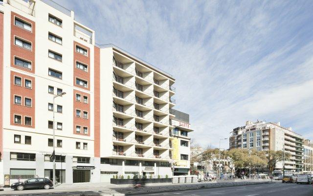 Отель Auto Hogar вид на фасад