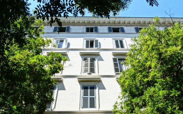 Hotel Giuggioli вид на фасад