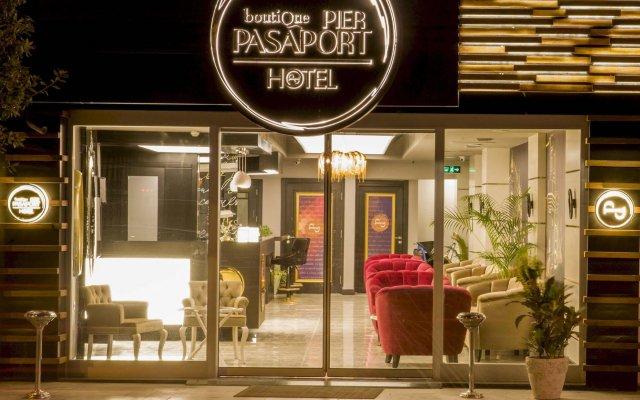 Pasaport Pier Hotel вид на фасад