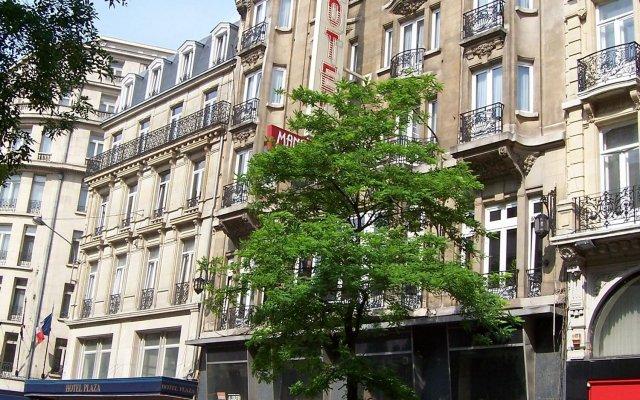 Отель Manhattan Бельгия, Брюссель - 1 отзыв об отеле, цены и фото номеров - забронировать отель Manhattan онлайн вид на фасад