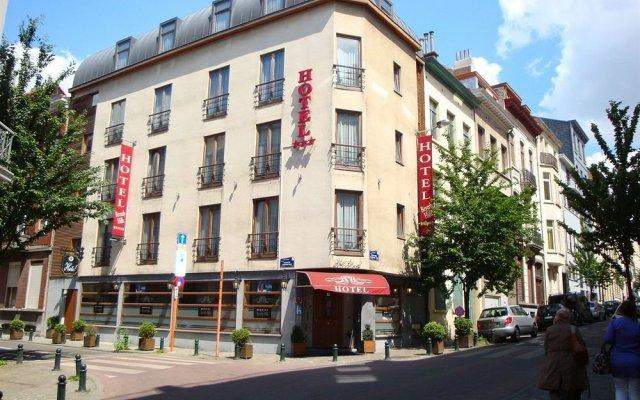 Beverly Hills Hotel Брюссель вид на фасад