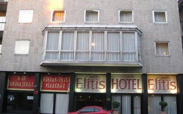 Elitis Hotel Леньяно вид на фасад