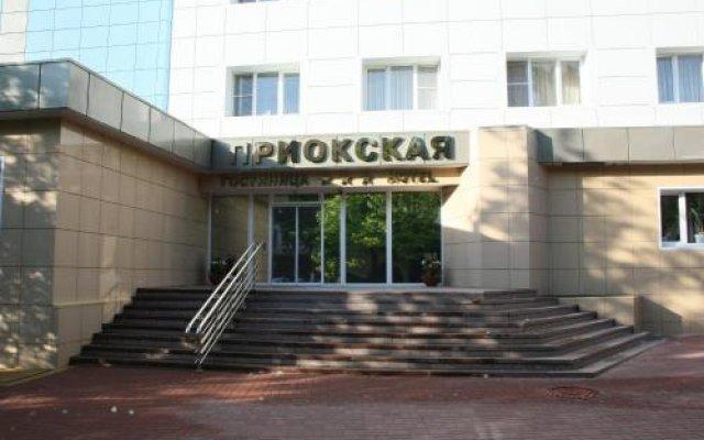 Гостиница Приокская в Калуге 10 отзывов об отеле, цены и фото номеров - забронировать гостиницу Приокская онлайн Калуга вид на фасад