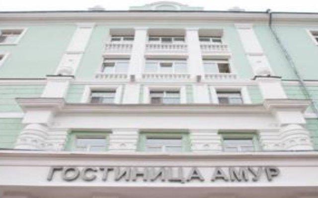 Гостиница Амур вид на фасад