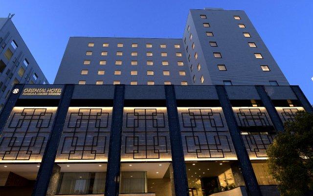 Oriental Hotel Fukuoka Hakata Station вид на фасад