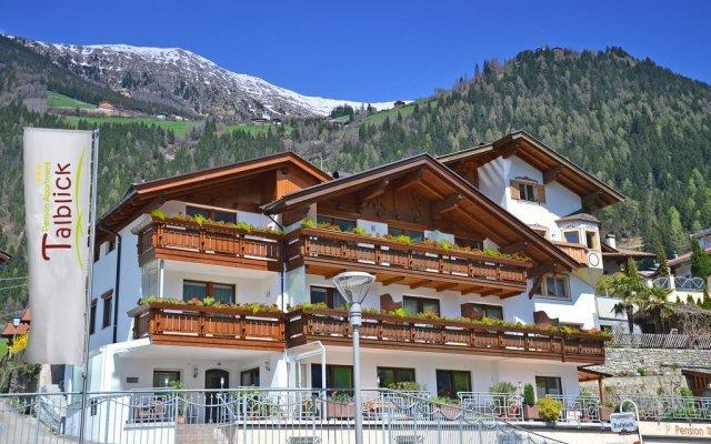 Отель Pension Talblick Горнолыжный курорт Ортлер вид на фасад
