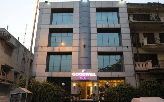 Отель Goodwill Hotel Delhi Индия, Нью-Дели - отзывы, цены и фото номеров - забронировать отель Goodwill Hotel Delhi онлайн вид на фасад