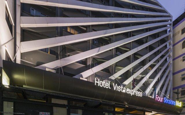 Hotel Vista Express Бангкок вид на фасад