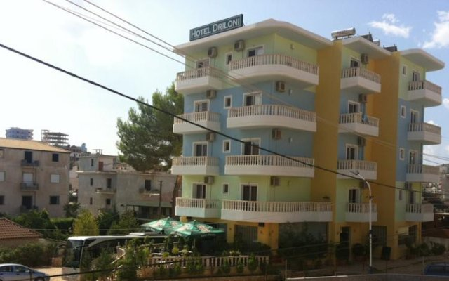 Driloni Hotel Ксамил вид на фасад