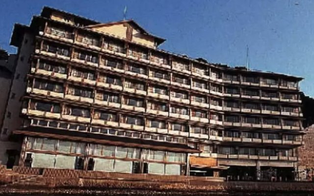 Hotel Urashima Кусимото вид на фасад