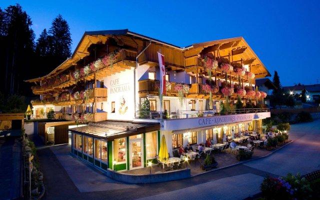 Отель Alpenpanorama Австрия, Зёлль - отзывы, цены и фото номеров - забронировать отель Alpenpanorama онлайн вид на фасад