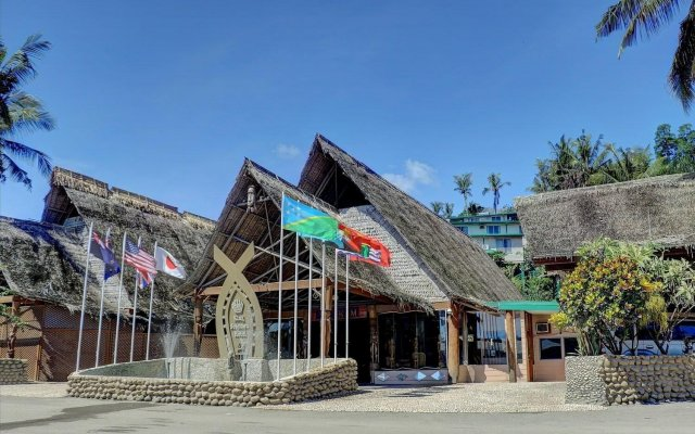 King Solomon Hotel in Guadalcanal, Solomon Islands from 250$, photos, reviews - zenhotels.com hotel front