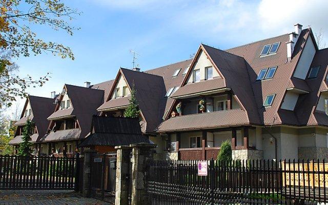 Отель Leonia Закопане вид на фасад
