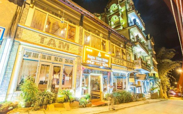 Sapa View Hotel вид на фасад
