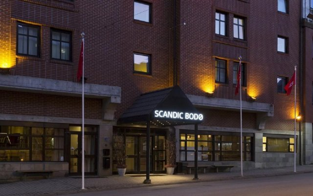 Отель Scandic Bodø вид на фасад