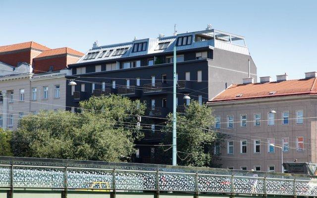 Отель Vienna Westside Apartments Австрия, Вена - отзывы, цены и фото номеров - забронировать отель Vienna Westside Apartments онлайн вид на фасад