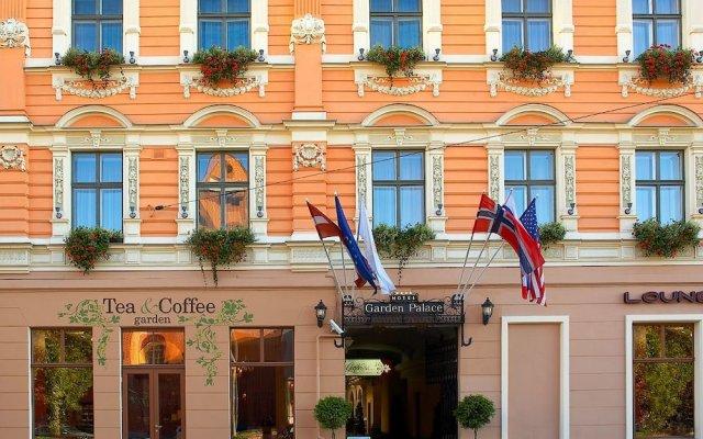 Garden Palace Hotel вид на фасад