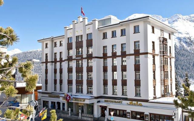 Отель Schweizerhof Swiss Quality Hotel Швейцария, Санкт-Мориц - отзывы, цены и фото номеров - забронировать отель Schweizerhof Swiss Quality Hotel онлайн вид на фасад