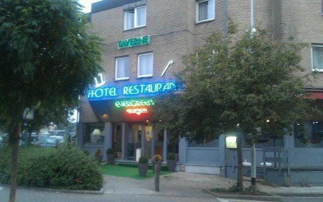 Отель Evergreen Бельгия, Брюссель - отзывы, цены и фото номеров - забронировать отель Evergreen онлайн вид на фасад