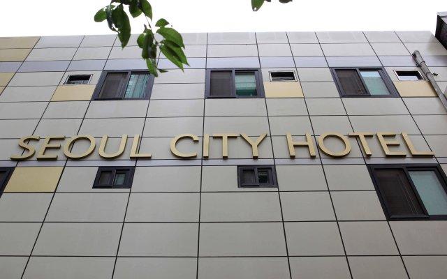 Отель Seoul City Hotel Южная Корея, Сеул - отзывы, цены и фото номеров - забронировать отель Seoul City Hotel онлайн вид на фасад