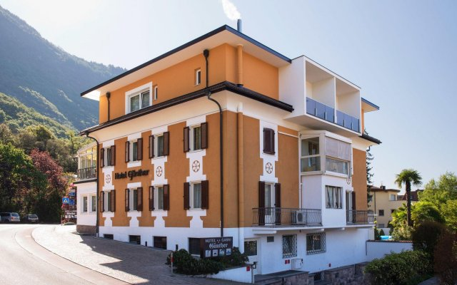 Hotel Garni Gunther Лана вид на фасад