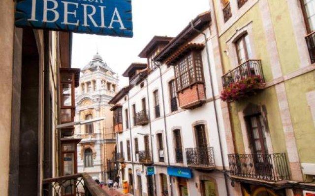 Отель Pension Iberia вид на фасад