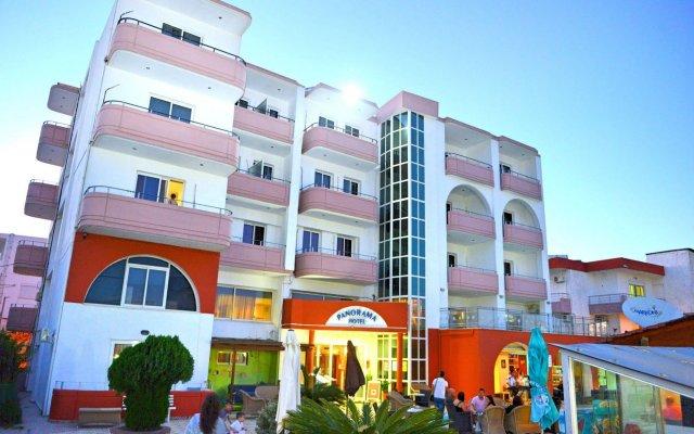 Panorama Hotel Apartments вид на фасад