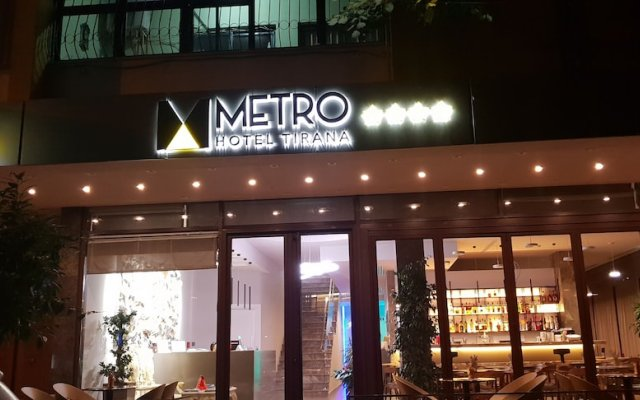 Отель Metro Hotel Tirana Албания, Тирана - отзывы, цены и фото номеров - забронировать отель Metro Hotel Tirana онлайн вид на фасад