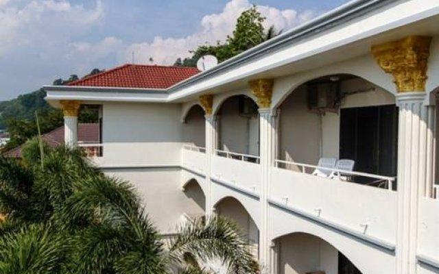 Отель Toy Residence вид на фасад