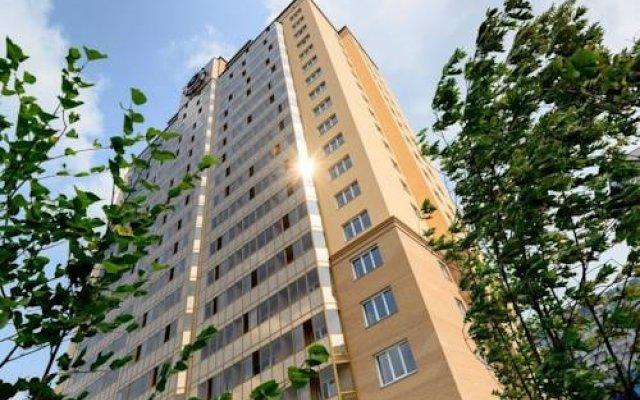 Гостиница ApartHotel Lazurnyy в Новосибирске 1 отзыв об отеле, цены и фото номеров - забронировать гостиницу ApartHotel Lazurnyy онлайн Новосибирск вид на фасад