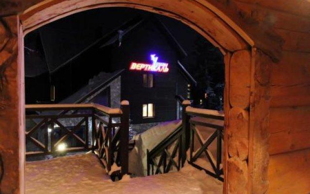 Гостиница Vertikal в Шерегеше отзывы, цены и фото номеров - забронировать гостиницу Vertikal онлайн Шерегеш вид на фасад