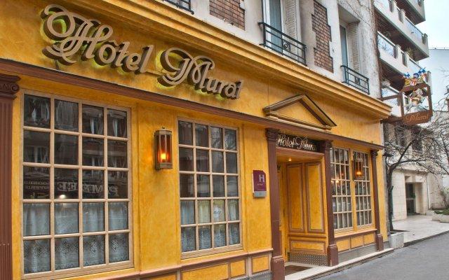 Hotel Murat Париж вид на фасад