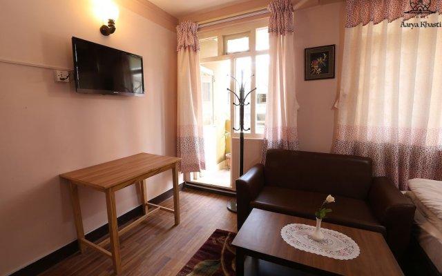 Отель Aarya Chaitya Inn Непал, Катманду - отзывы, цены и фото номеров - забронировать отель Aarya Chaitya Inn онлайн комната для гостей